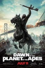 Nonton Film Dawn of the Planet of the Apes (2014) Sub Indo